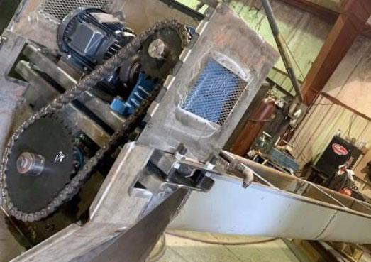 material handling screw conveyor